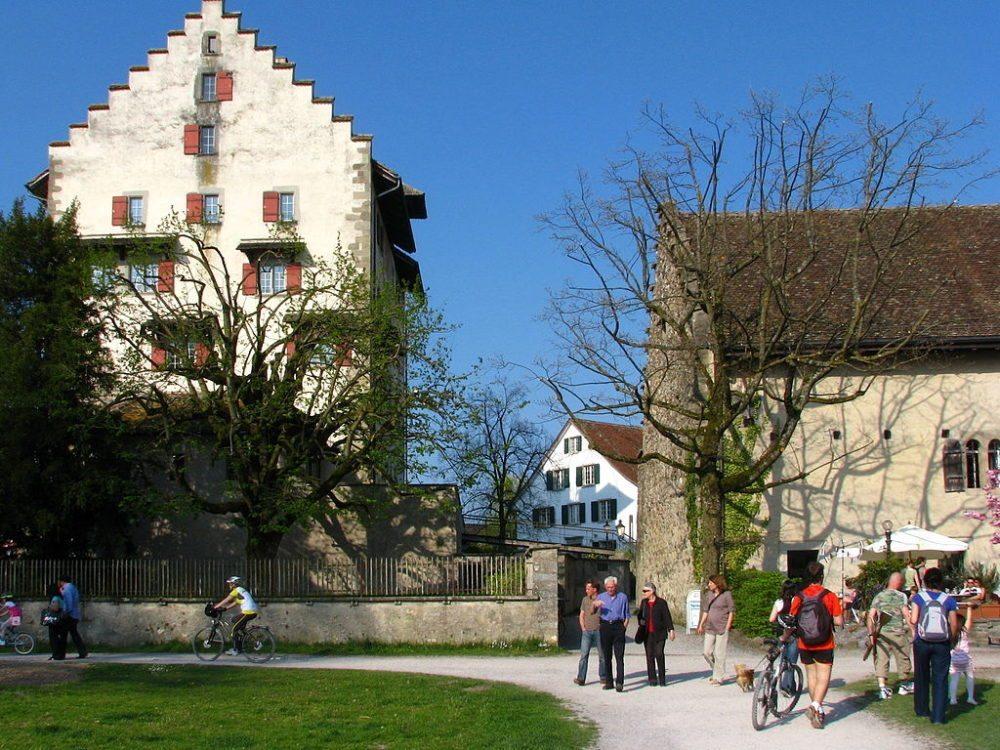 Schloss und Landenberghaus in Greifensee (ZH). (Urheber: Roland zh / Wiki)
