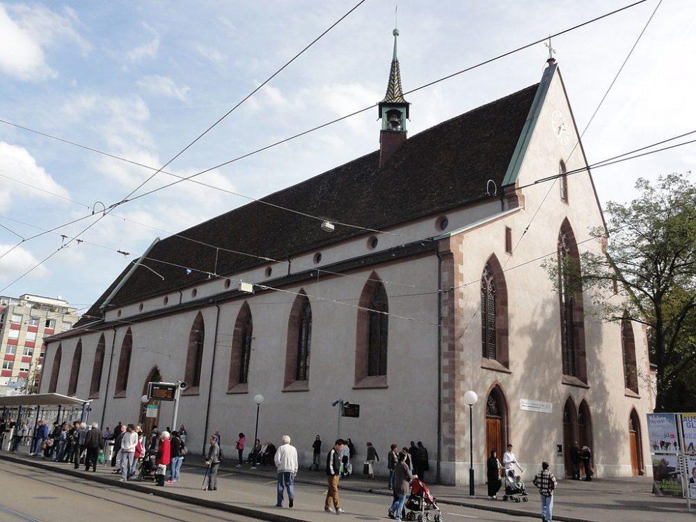 """Die St. Clarakirche am Claraplatz, Basel. (Urheber: Mattes / Wiki / Lizenz: <a href=""""http://creativecommons.org/licenses/by/2.0/de/deed.de"""" target=""""_blank"""">CC</a>)"""