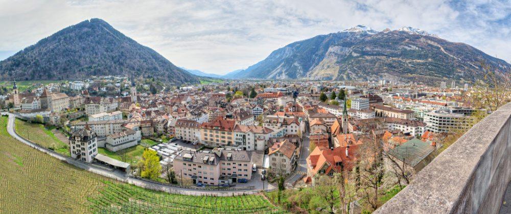 Panoramablick auf Chur. (© mlehmann78 - Fotolia.com)