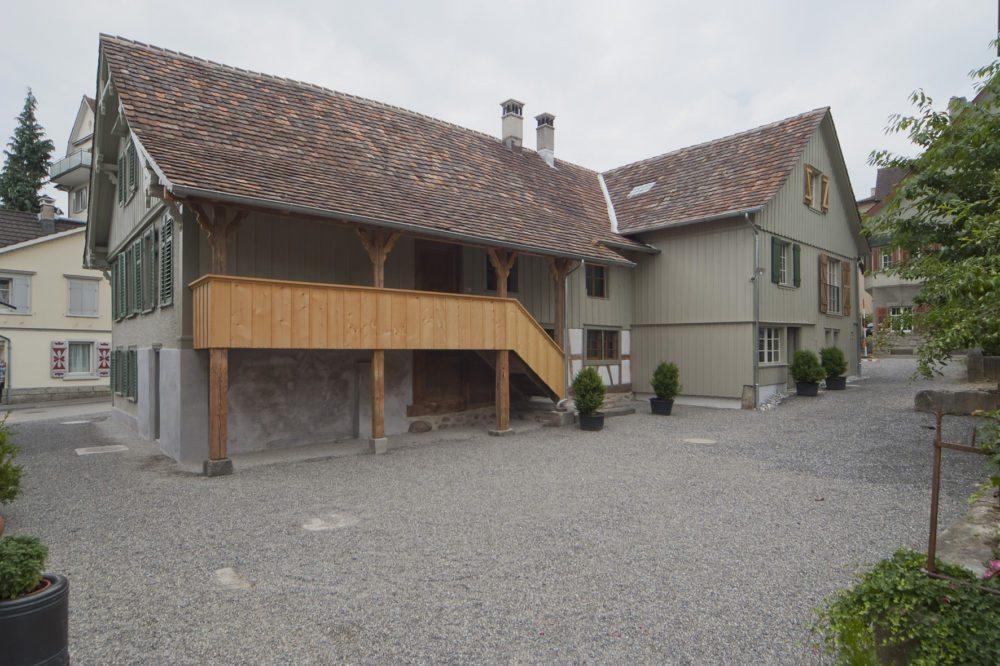 Fischerhäuser in Romanshorn TG. (Quelle: heimatschutz.ch)