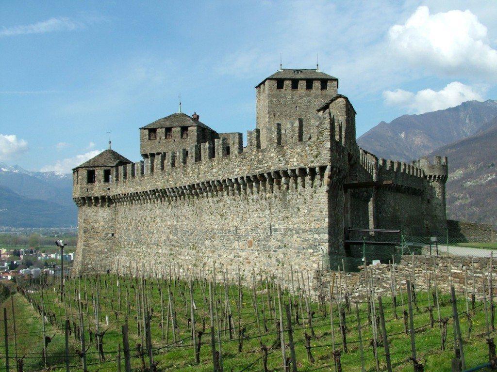 Das Castello di Montebello. (Bild: Clemensfranz / Wikimedia / CC)