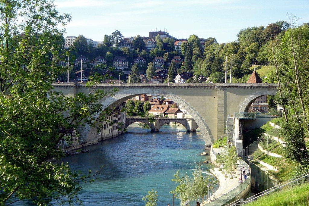 Die Nydeggbrücke. (Bild: krol:k / Wikimedia / CC)