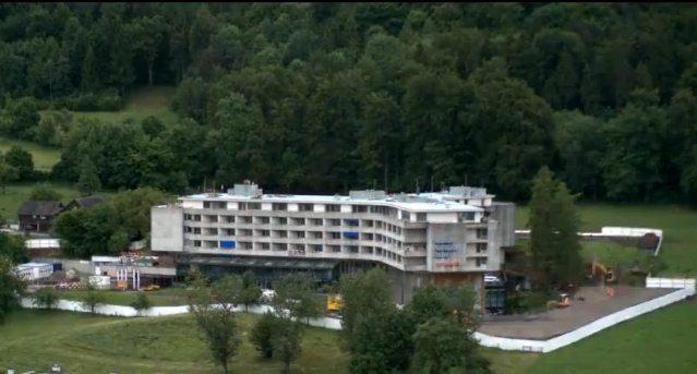 Das neue Hotel Atlantis während der aktuellen Bauarbeiten. (Bild: Screenshot tagesanzeiger.ch)