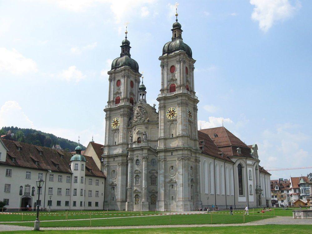 UNESCO Weltkulturerbe Stiftskirche in St. Gallen (Bild: V 200, Wikimedia, CC)