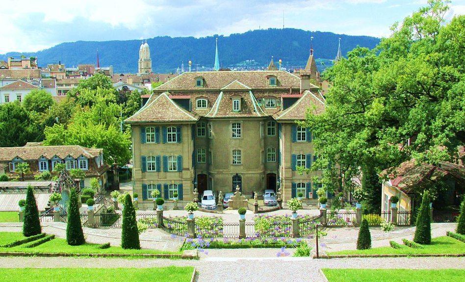 Haus zum Rechberg, Hirschengraben 40 in Zürich (Bild: Juerg.hug, Wikimedia, CC)