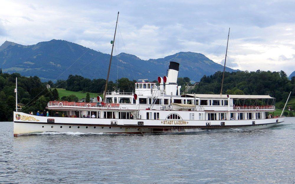 Flaggschiff der SGV – Stadt Luzern (Bild: Roel Hemkes, Wikimedia, CC)
