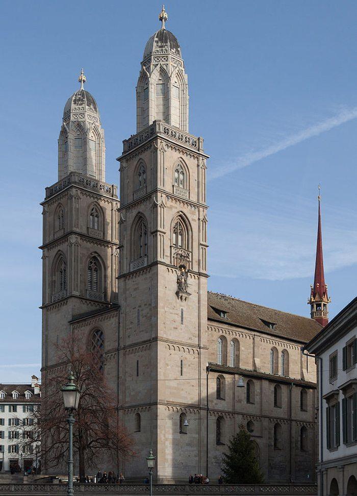 Grossmünster in Zürich (Bild: Ximeg, Wikimedia, CC)