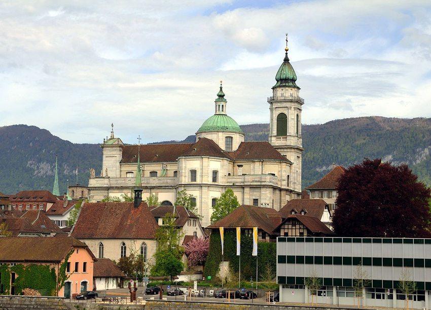 St. Ursenkathedrale von Süden (Bild: Wladyslaw, Wikimedia, CC)