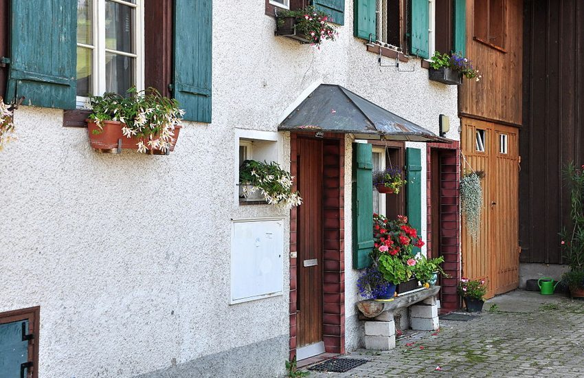 Das Flarzhaus in Undalen ist ein Zeugnis der bäuerlichen Vergangenheit. (Bild: Roland zh, Wikimedia, CC)