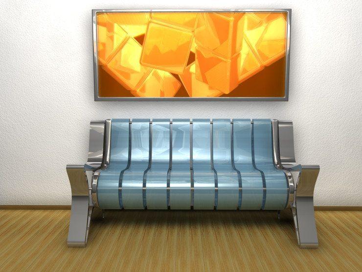 Manches Sofa möchten nicht so recht in ein Normalsterblichen-Wohnzimmer passen. (Bild: © andreas71_5 - Fotolia.com)