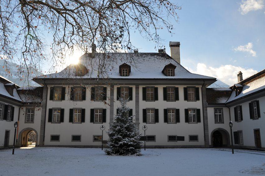 Schloss Interlaken – Innenhof (Bild: Interlaken Tourismus)