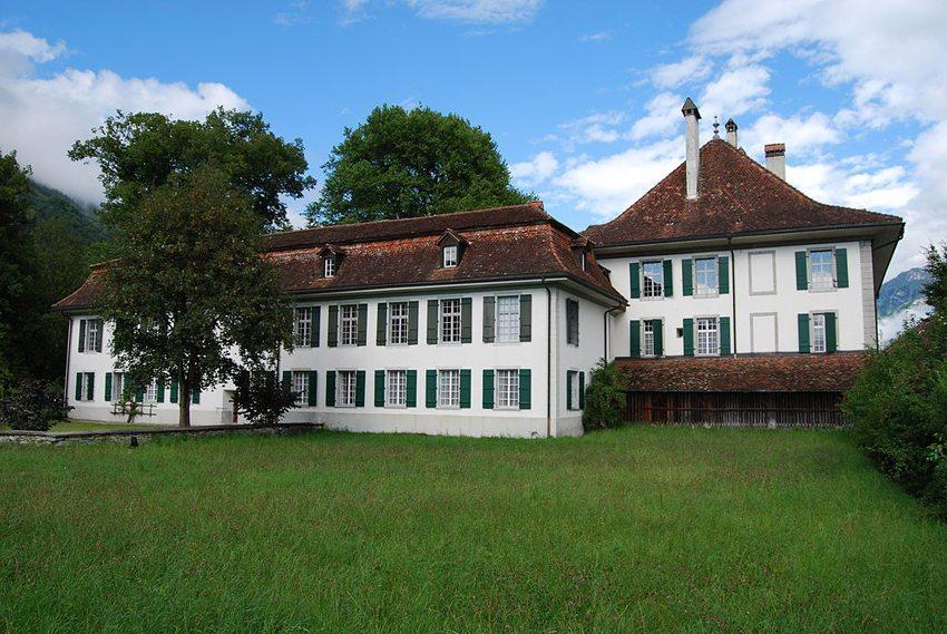 Schloss Interlaken, Kanton Bern (Bild: Dietrich Michael Weidmann, Wikimedia, GNU)