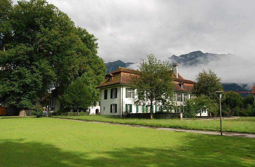 Kloster und Schloss Interlaken (© Dietrich Michael Weidmann, Wikimedia, GNU)
