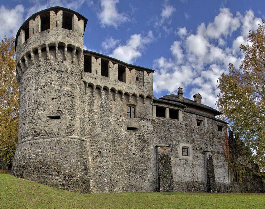 Castello Visconteo Locarno (Bild: Chris ALC, Wikimedia, CC)