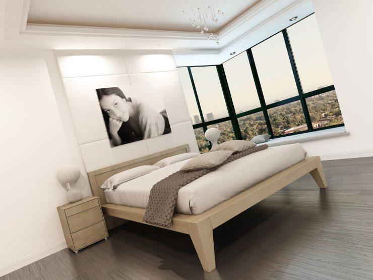 Das Schlafzimmer gestalten - mit einem Bett vom Designer. (Bild: © XtravaganT - Fotolia.com)