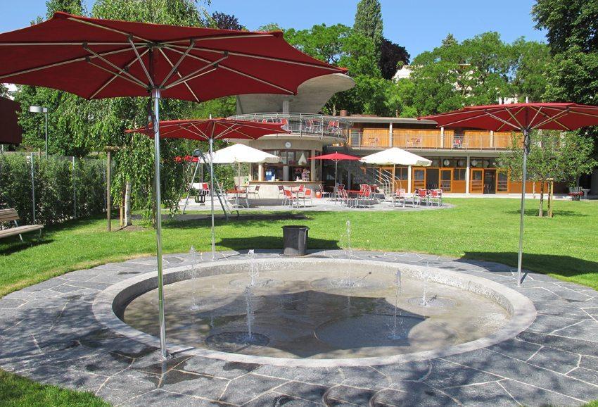 Zürcher Strandbad in Wollishofen wurde einer gründlichen Renovation unterzogen (Bild: Sportamt Stadt Zürich)