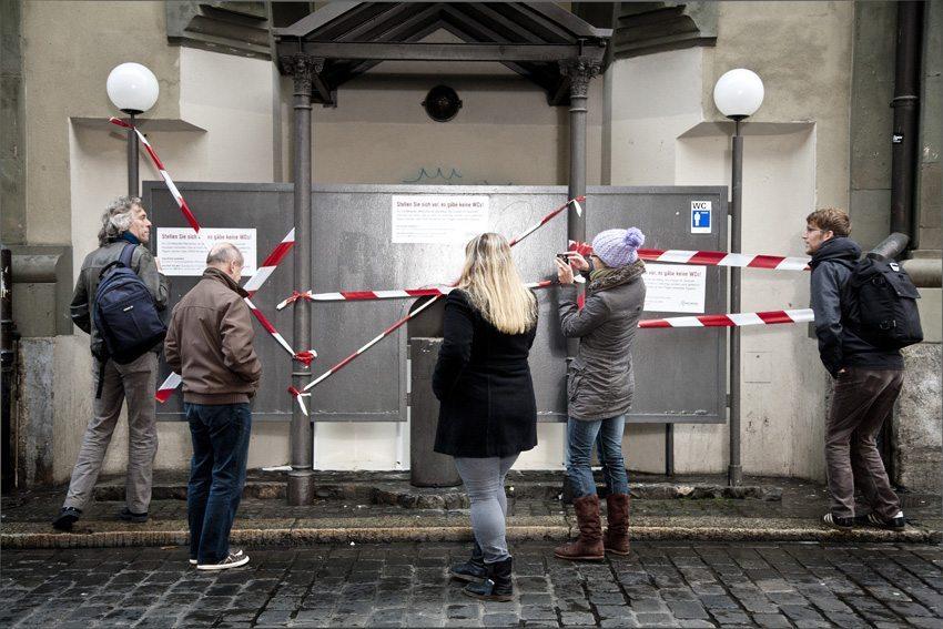 Bern hat zu wenig öffentliche Toiletten. (Bild: Helvetas / Michael Zingg)