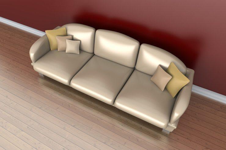 Polstermöbel sind stets das Herz eines jeden Wohnzimmers. (Bild: © Spectral-Design - Fotolia.com)