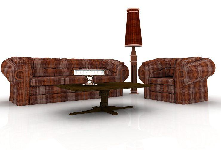 So schick können Polstermöbel sein. (Bild: © martina - Fotolia.com)