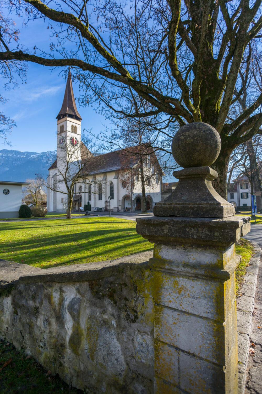 Schlosskirche Interlaken (Bild: Frank Fell Media – shutterstock.com)