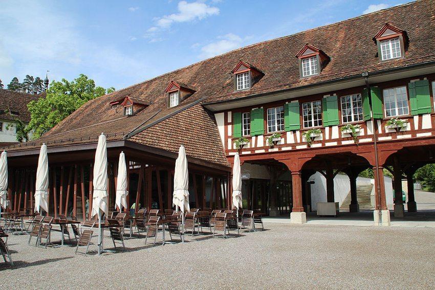 "Kartause Ittingen - Restaurant ""Mühle"" (Bild: Adrian Michael, Wikimedia, GNU)"