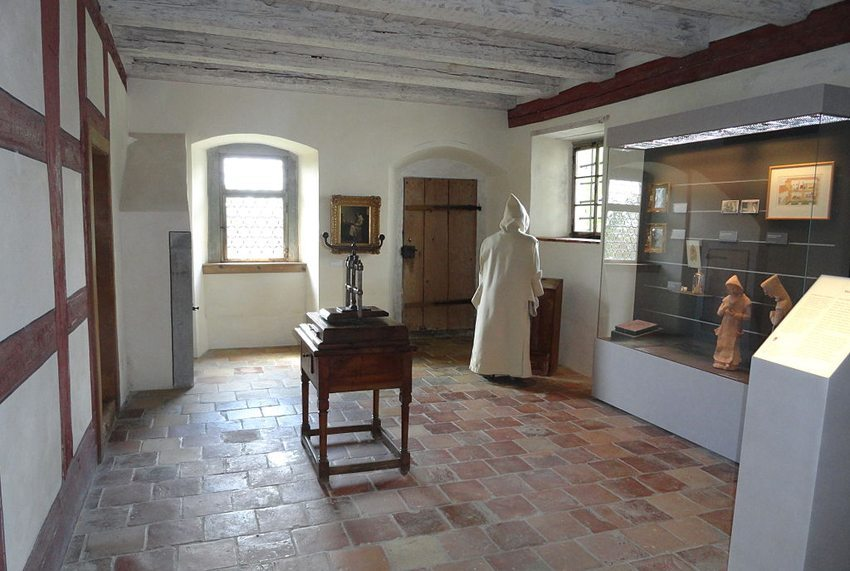 Mönchszelle im Ittinger Museum (Bild: Parpan05, Wikimedia, GNU)