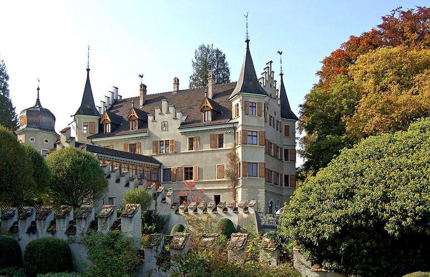 Schloss Seeburg in Kreuzlingen (Bild: Gerhard Giebener, WIkimedia, CC)