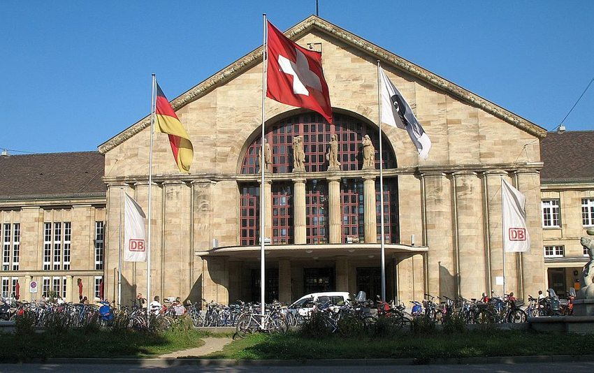 Der Badische Bahnhof in Basel (Bild: (WT-shared) Túrelio, WIkimedia, CC)