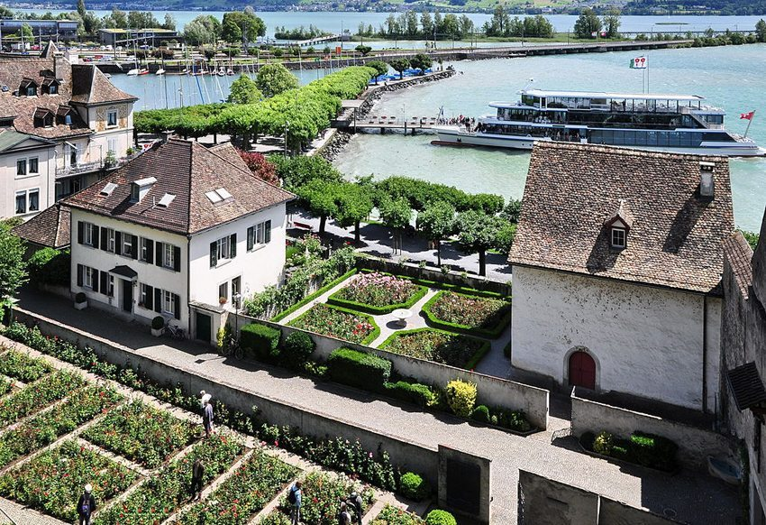 Rosengärten in Rapperswil (Bild: Roland zh, Wikimedia, CC)
