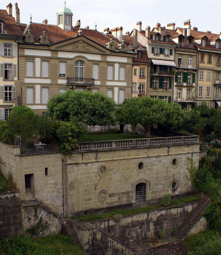 Das Béatrice-von-Wattenwyl-Haus in Bern (Bild: Sandstein, Wikimedia, CC)