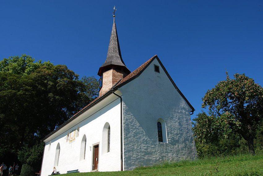 Die Galluskapelle in Oberstammheim (Bild: Dietrich Michael Weidmann, Wikimedia, GNU)