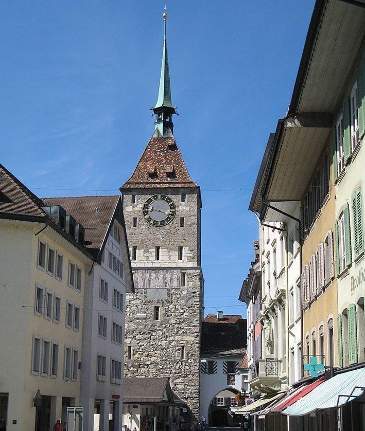Oberer Turm in Aarau (Bild: Voyager, Wikimedia, GNU)