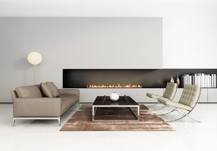 Ein Ledersofa lässt sich mit fast allen erdenklichen Möbeln kombinieren. (Bild: © Mihalis A. - fotolia.com)