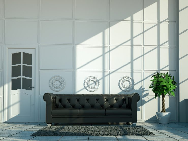 Ein Ledersofa ist für Ihre Wohnung bestimmt eine gute Wahl. (Bild: © virtua73 - Fotolia.com)