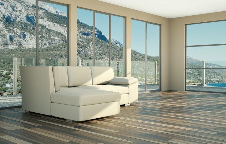 Eine Polstergruppe ist ein wesentlicher Bestandteil der Wohnzimmereinrichtung. (Bild: © virtua73 - fotolia.com)