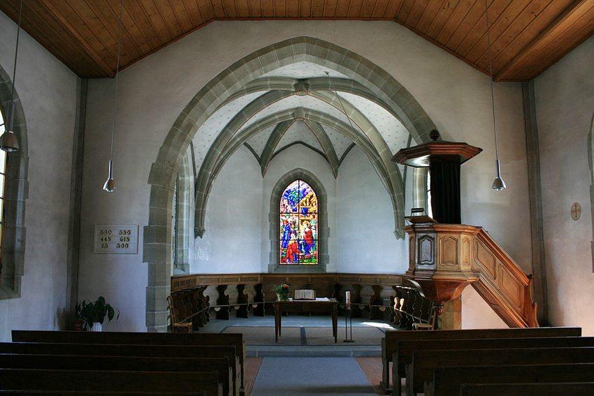 Französische Kirche in Murten (Bild: Badener, Wikimedia, CC)