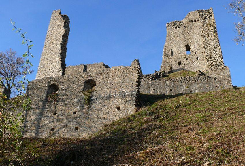 Burgruine Schenkenberg – eines der beliebtesten Ausflugsziele in der Region (Bild: Sabine Itting)