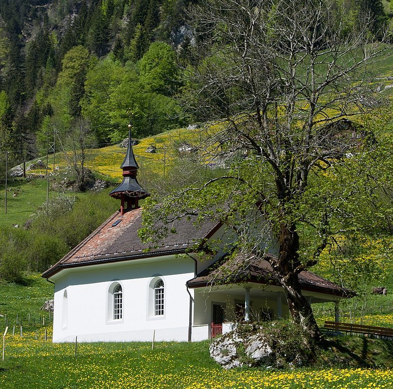 Kapelle St. Jakob in Isenthal (Bild: Roland Zumbuehl, Wikimedia, GNU)