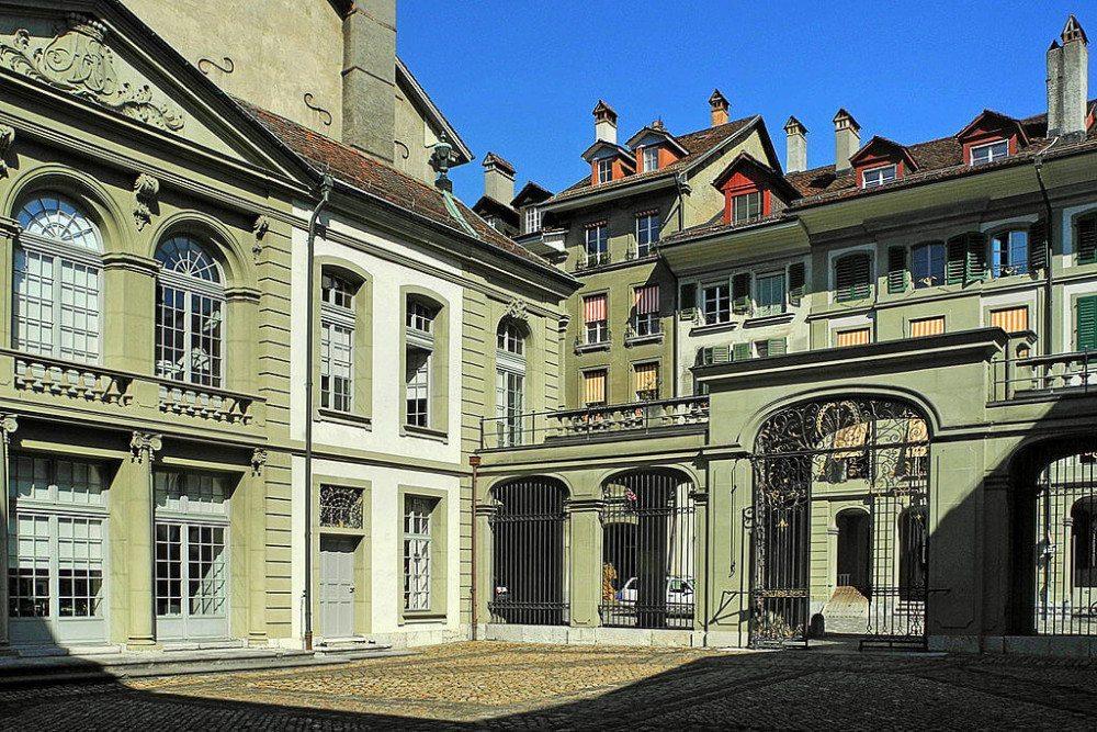 Erlacherhof in Bern, Teilansicht (Bild: WillYs Fotowerkstatt, Wikimedia, GNU)