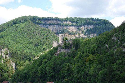 Ruine Neu Falkenstein Balsthal (Bild: Dietrich Michael Weidmann, Wikimedia, CC)