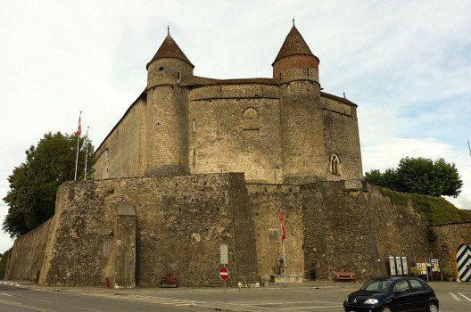 Die Festung Grandson (Bild: Twen, Wikimedia, CC)