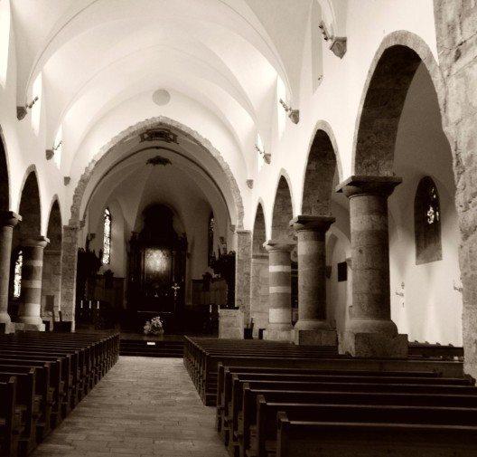 Die Stelle, an der die Abtei errichtet wurde, war bereits viel früher ein römisches Heiligtum. (Bild: © Odrade123 - CC BY-SA 3.0)