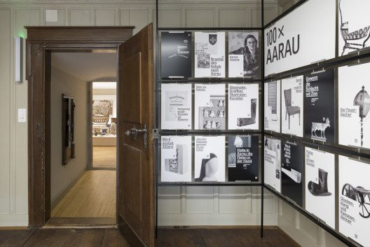 Dauerausstellung «100 x Aarau» (Bild: Stadtmuseum Aarau, Fotograf: Yohan Zerdoun)