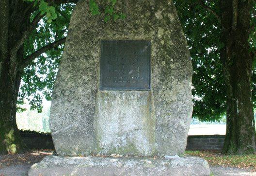 Denkmal für Ulrich Zwingli in Kappel am Albis. (Bild: Lutz Fischer-Lamprecht)