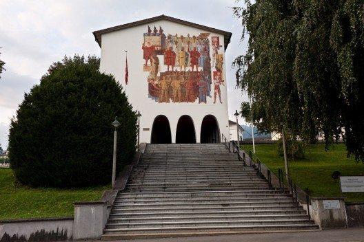 Das Bundesbriefmuseum (Bild: © www.f64.ch, Wikimedia, CC BY-SA 3.0)