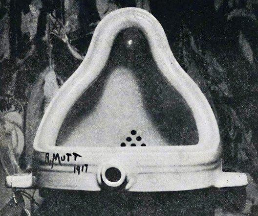 """""""Fontäne"""" ist eins der bekanntesten dadaistischen Werke. (Bild: Stieglitz, Wikimedia, public domain)"""