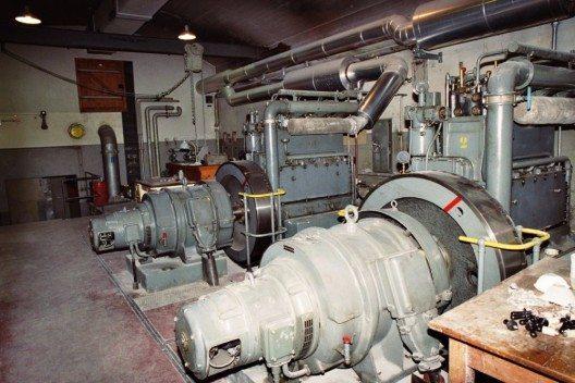 Motorenraum im Sasso San Gottardo (Bild: © Clément Dominik, Wikimedia, CC BY-SA 2.0)