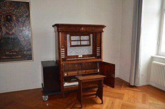 Zu Klosterzeiten war in der Kirche neben der grossen Orgel im Mönchschor eine kleine Chororgel platziert. (Bild: © lups.ch)