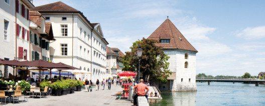 Aareufer Solothurn (Bild: Tobias Dimmler SHS)