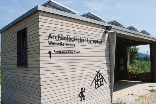 Archäologischer Lernpfad in Wauwil, Kanton Luzern (Bild: DidiWeidmann, Wikimedia, CC)